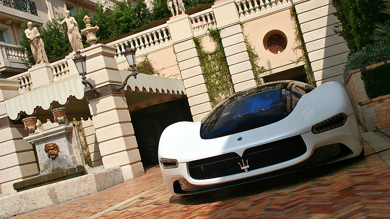 2005 Maserati Birdcage 75th Pininfarina Concept