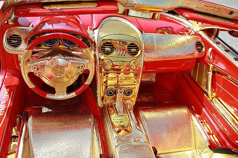 2011 Mercedes-Benz SLR McLaren 999 Red Gold Dream Ueli Anliker